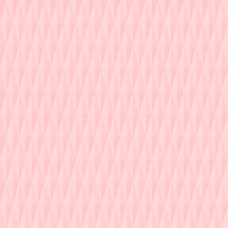 Geometric vector pattern with volume pink rhombuses. Geometric modern ornament. Seamless abstract background Vectores