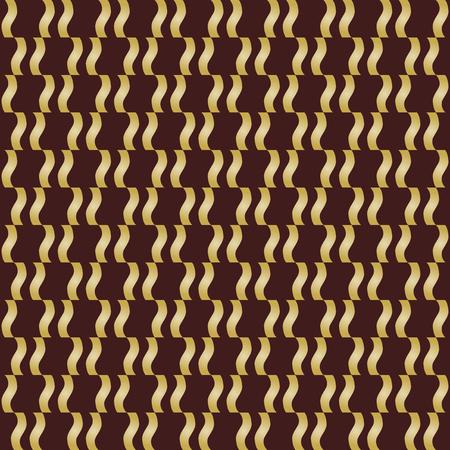 Seamless golden ornament. Modern background. Geometric modern pattern