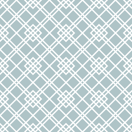 Geometric abstract vector light blue and white pattern. Geometric modern ornament. Seamless modern background