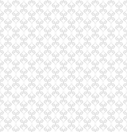 Seamless vector ornament. Modern background. Geometric modern light pattern