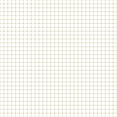 Griglia dorata di vettore geometrico. Modello astratto fine senza soluzione di continuità. Sfondo moderno