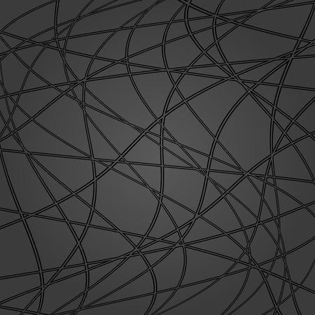 Seamless vector ornament. Modern background. Geometric modern dark pattern Illustration