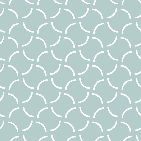 Seamless vector ornament. Modern background. Geometric modern blue and white pattern