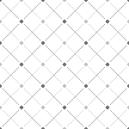 Geometric dotted vector light pattern. Seamless abstract modern texture for wallpapers and backgrounds  イラスト・ベクター素材