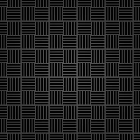 Seamless dark background for your designs. Modern ornament. Geometric abstract pattern
