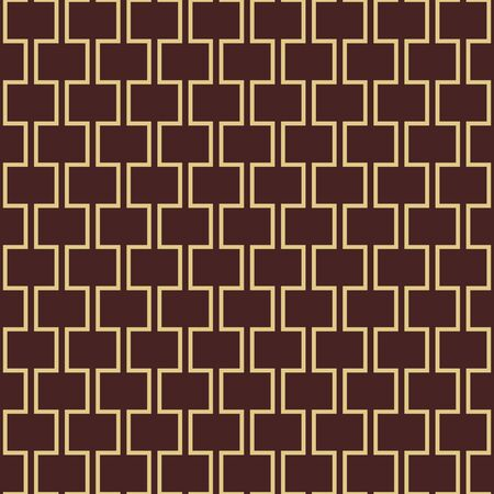 Seamless background for your designs. Modern golden ornament. Geometric abstract pattern Imagens