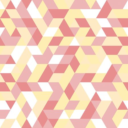Seamless background for your designs. Modern vector colored ornament. Geometric abstract pattern Vektorové ilustrace
