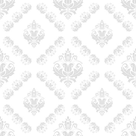Orient vector classic light pattern. Seamless abstract background with vintage elements. Orient background. Ornament for wallpaper and packaging