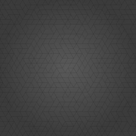 Seamless background for your designs. Modern vector ornament. Geometric abstract dark pattern with black lines
