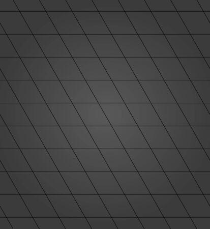 Seamless background for your designs. Modern vector ornament. Geometric abstract dark pattern Illusztráció