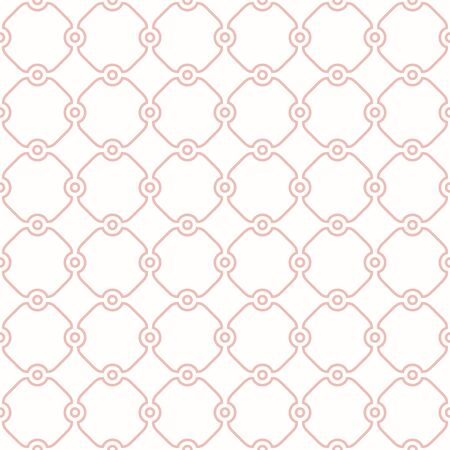 Seamless vector ornament in arabian style. Geometric abstract pink background. Pattern for wallpapers and backgrounds Illusztráció