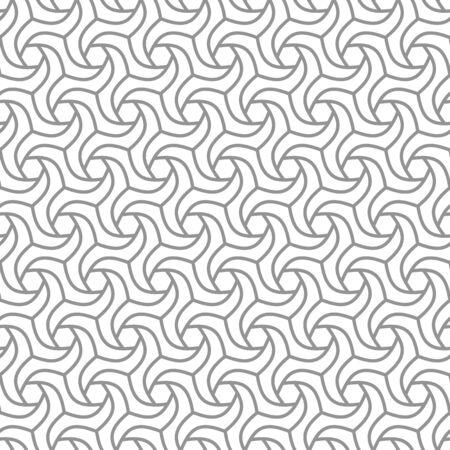 Seamless vector ornament. Modern ligt background. Geometric modern pattern
