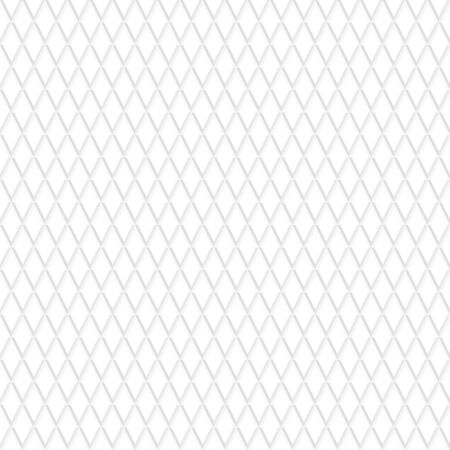 Seamless background. Modern ornament with volume repeating light rhombuses. Geometric pattern Standard-Bild - 133359479