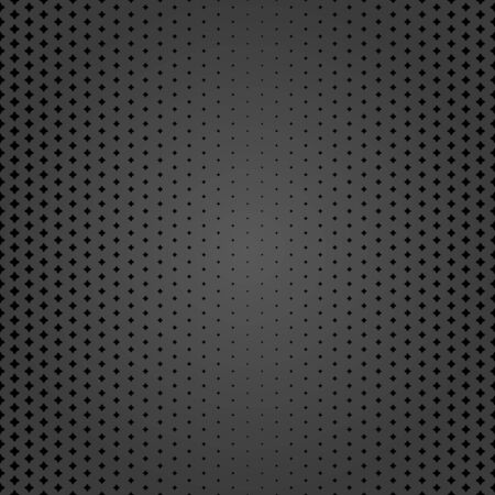 Geometric abstract vector pattern. Geometric modern ornament. Seamless modern dark background with black rhombuses Illusztráció