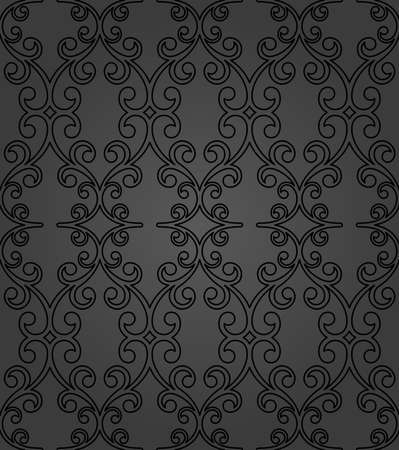 Orient classic pattern. Seamless abstract background with vintage elements. Orient dark background. Ornament for wallpaper and packaging