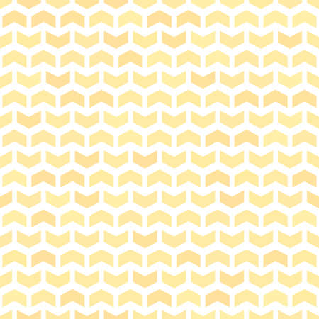 Geometric vector pattern with golden arrows. Geometric modern ornament. Seamless abstract background 向量圖像