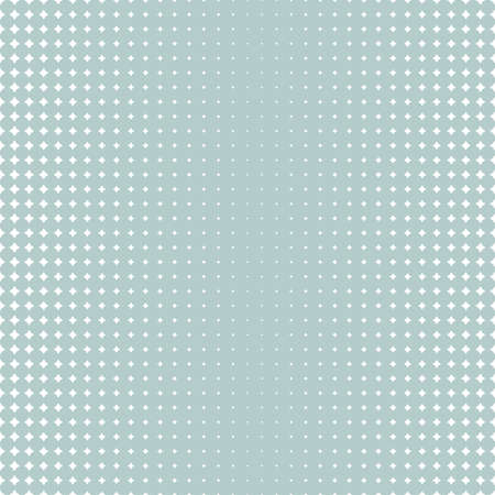 Seamless geometric vector pattern. Modern ornament with white stars. Geometric abstract pattern