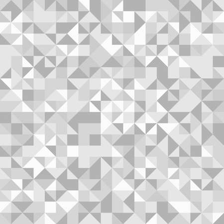 Geometric vector pattern with gray triangles. Geometric modern ornament. Seamless abstract background 向量圖像