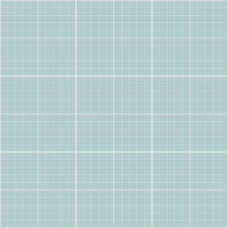 Geometric vector light blue and white grid. Seamless fine abstract pattern. Modern background with white lines