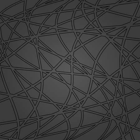 Dark vector ornament. Modern background. Geometric modern wavy pattern 向量圖像