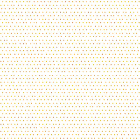 Seamless colored geometric vector pattern. Modern ornament with dotted elements. Geometric abstract pattern