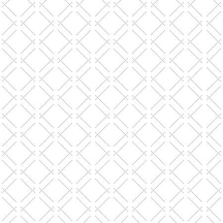 Geometric dotted vector gray pattern. Seamless abstract modern texture for wallpapers and backgrounds