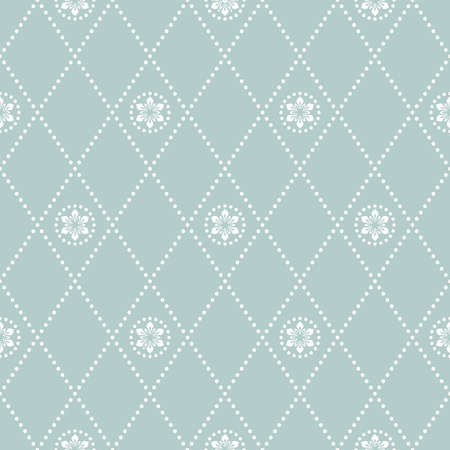 Geometric dotted vector pattern. Seamless abstract light modern texture for wallpapers and backgrounds