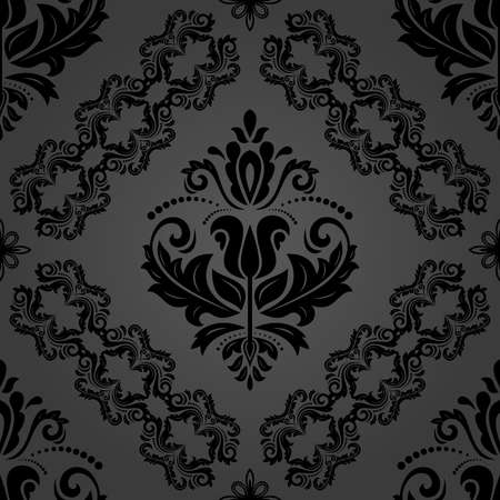 Classic Seamless Dark Vintage Pattern