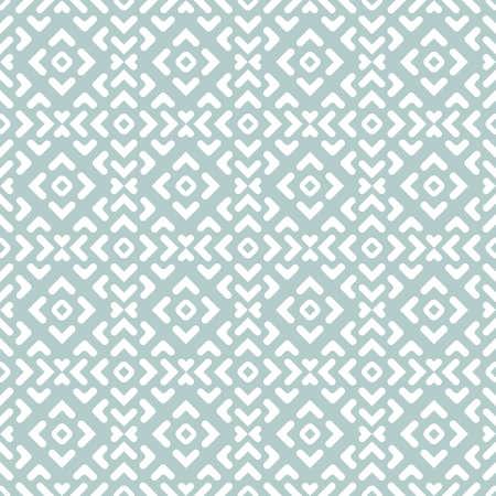 Seamless Geometric Light Blue and White Background