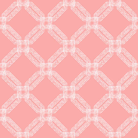 Seamless Abstract Pattern With Octagons Banque d'images