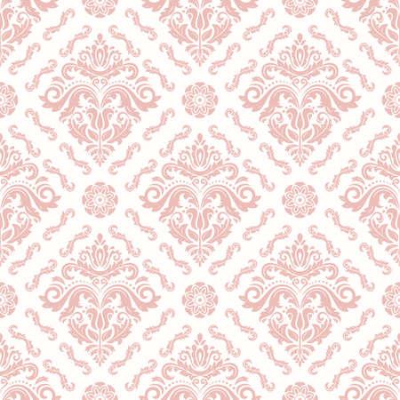 Orient Seamless Light Pink Background