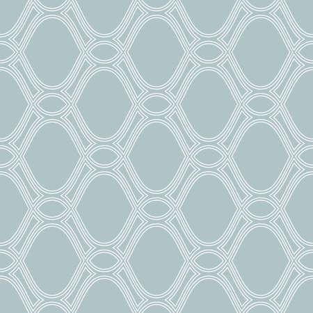 Seamless ornament. Modern blue and white background. Geometric modern pattern Stockfoto