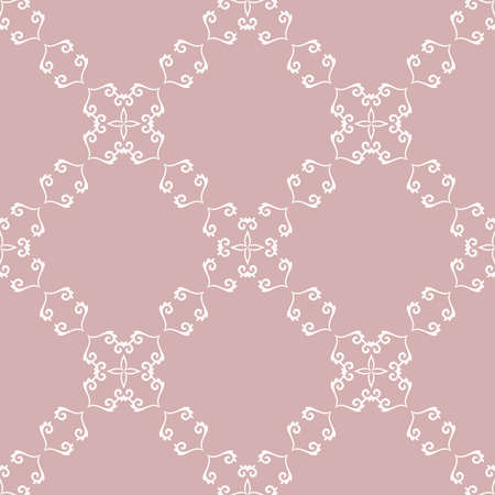 Orient vector classic diagonal white pattern. Seamless abstract background with vintage elements. Orient background. Ornament for wallpaper and packaging Stock Illustratie