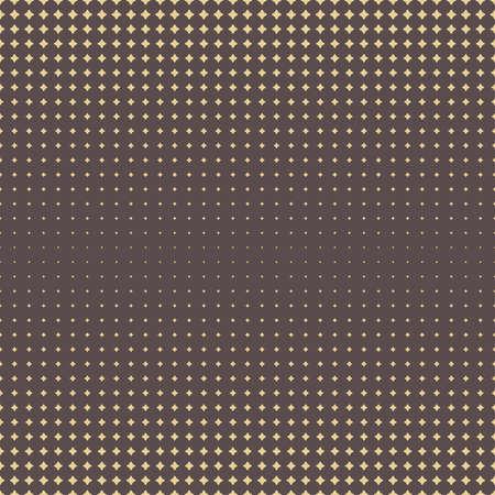Seamless geometric vector golden pattern. Modern ornament with golden stars. Geometric abstract pattern