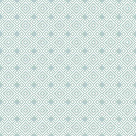 Geometric abstract vector pattern. Geometric modern light blue and white ornament. Seamless modern background