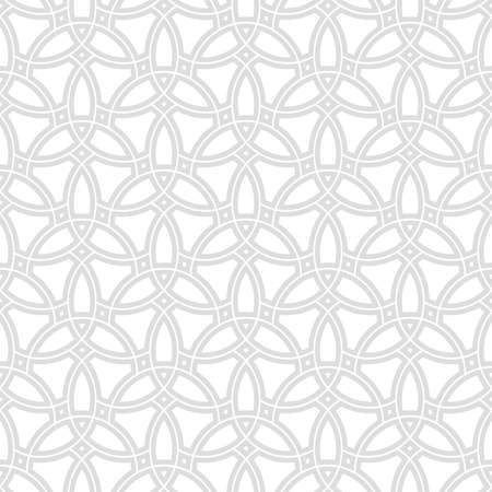 Seamless vector light ornament. Modern light background. Geometric modern pattern
