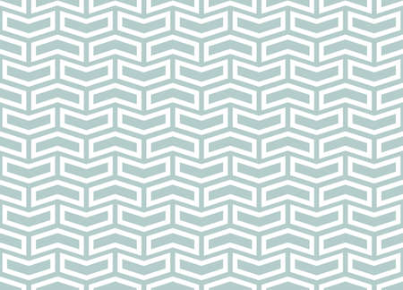 Geometric vector pattern with light blue and white . Geometric modern ornament. Seamless abstract background