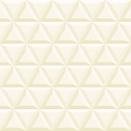 Geometric pattern with triangles. Geometric modern light ornament. Seamless abstract background