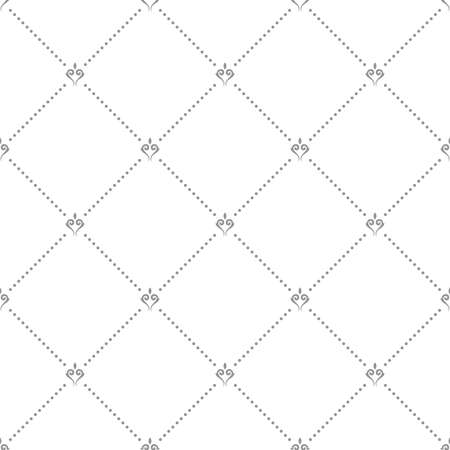 Geometric dotted gray pattern. Seamless abstract modern texture for wallpapers and backgrounds
