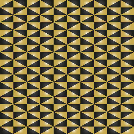 Geometric vector pattern with triangles. Seamless abstract background