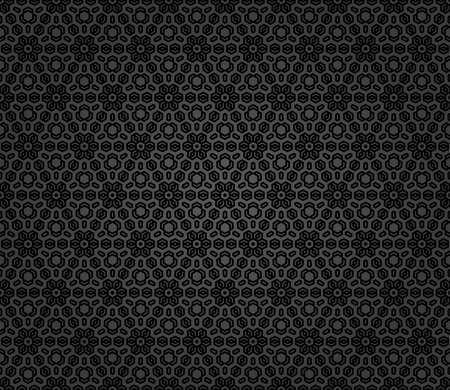 Floral vector ornament. Seamless dark classic background with flowers. Pattern with repeating floral elements. Ornament for fabric, wallpaper and packaging