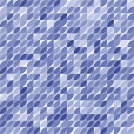 Seamless background for your designs. Modern blue ornament. Geometric abstract pattern