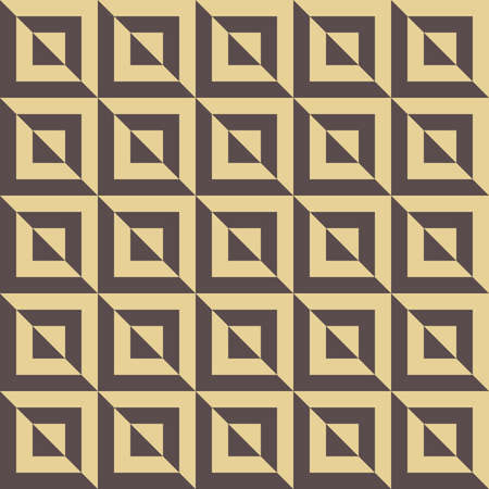 Seamless background for your designs. Modern golden ornament. Geometric abstract pattern Stockfoto