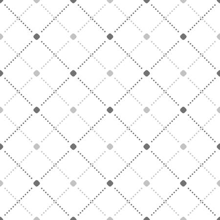 Geometric dotted light pattern. Seamless abstract modern texture for wallpapers and backgrounds