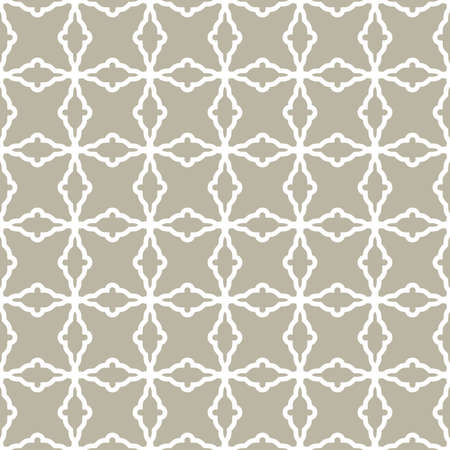 Seamless ornament in arabian style. Geometric abstract background. White pattern for wallpapers and backgrounds
