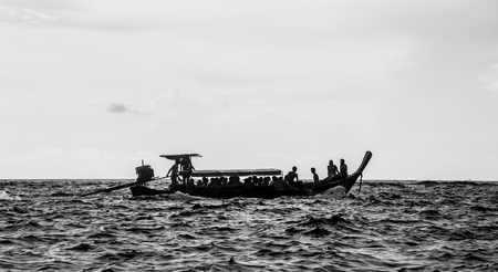 alappuzha: boat Stock Photo
