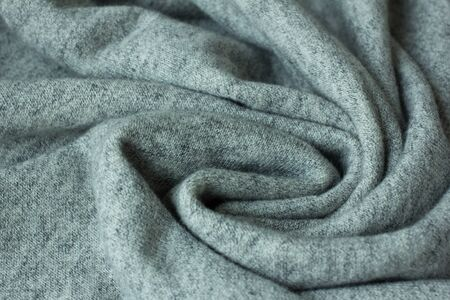 emplate: clothing laundry fabric close up grey factory Stock Photo
