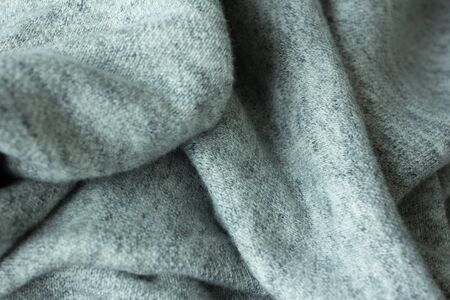 clothing laundry fabric close up grey factory Stock Photo