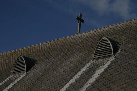 Church Cross against the Sky Stock Photo - 404066