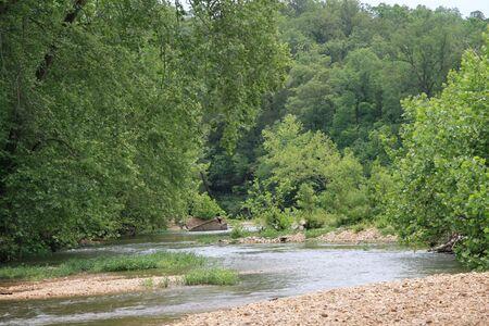 A river in the Ozarks Reklamní fotografie